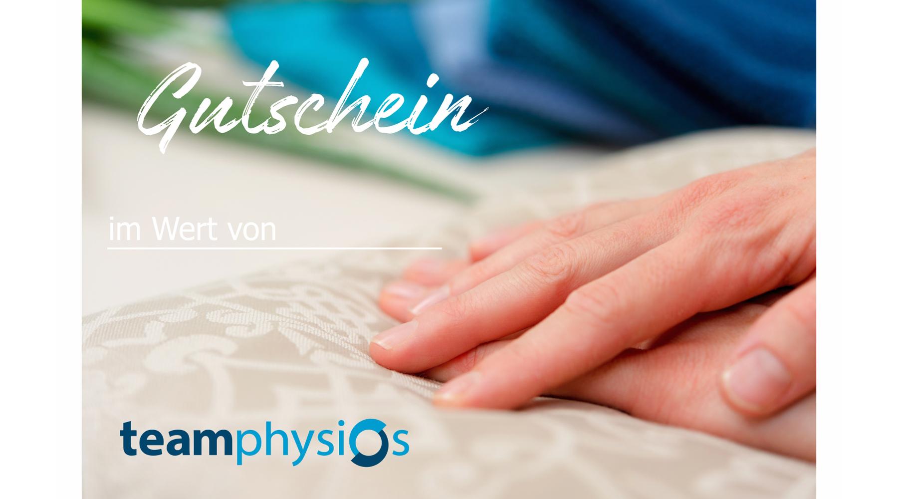 Gutscheine für Physiotherapie und Massage
